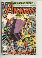 THE AVENGERS #193 VF VERY FINE WHITE PAGES BRONZE AGE COMIC 1980 MARVEL COMICS