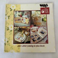 New Listing2001-2002 Close to My Heart Catalog & Idea Book: Rubber Stamps, Cards, Scrapbook