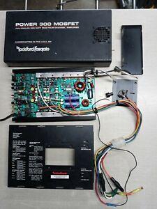 Old School Rockford Fosgate Power 300 Fan Cooled 4-channel Amplifier