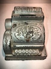 Nice Vintage * A Penny a Day * Cash Register Bank * Circa 1930's