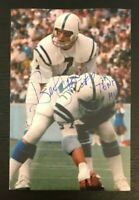 BERT JONES NFL Indianapolis Colts Football Auto Autographed Signed 4x6 Photo 1