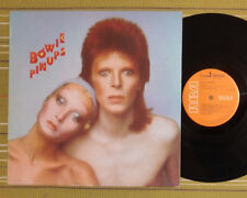 DAVID BOWIE, PINUPS LP 1973 RARE FRANCE/UK EX/EX- WITH INSERT