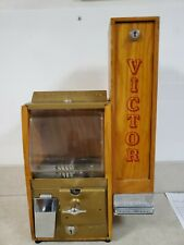 VICTOR GUMBALL BASEBALL CARD MACHINE RARE 1950'S