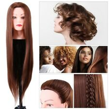 Salon Hair Styling Hairdressing Practice Head Training Mannequin Doll Head