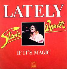 """Stevie Wonder 7"""" Lately - France (VG+/EX)"""