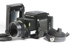 Mamiya RB67 Pro S + Sekor C 3,8/127 + Pro-S Magazin 120 + Lichtschachtsucher
