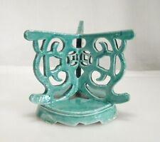 Chinese Porcelain Green Glaze Altar Plate Base - 59393