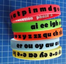 Fun Phonics Wristbands, Primary, Teacher Assessment, Pre School EYFS Phase 2,3,5