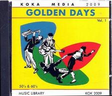 CD - Golden days Vol.1 - Koka Media