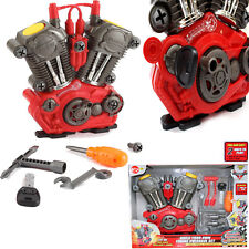 KIDS CHILDREN BUILT YOUR OWN ENGINE CONSTRUCTION KIT TOY FUN PLAY SET XMAS GIFT