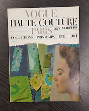 FRENCH VOGUE Collections Magazine Summer 1964