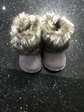 BNWOT H&M Fur Baby Boots 1-2