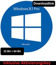 Microsoft Windows 8.1 Professional Aktivierungskey 32+64Bit Deutsch Downloadlink