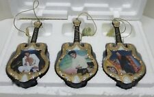 Elvis Presley Bradford Editions Hairloom Porcelain Ornament Collection With COA!