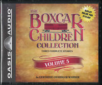NEW The Boxcar Children Collection Volume 5 Unabriged Audio CD Gertrude Warner