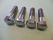 BSA Bantam C15 B25 B40 A50 A65 Cromo Pernos de abrazadera del manillar 65-5334 UK Made