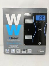 WW Scales by Conair Bluetooth Body Analysis Bathroom Scale, Measures Body Fat