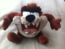 Talking Tazmanian Devil Plush Toy Looney Toons .