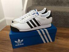 Adidas Originals Samoa Zapatillas para hombre Blanco/Negro UK 10 ** nuevo **