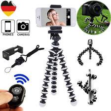 Tragbarer Smartphone Kamera Stativ Flexibel Ständer mit Bluetooth Fernbedienung