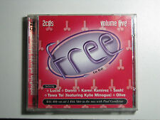 FREE TO BE Volume 5 Various Artists 2 CDs 1999 On Air Mix Paul Goodyear Lucid