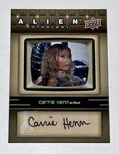 Alien Anthology 2016 Upper Deck autograph card Carrie Henn as Newt