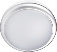 Bulk head Slim Mini Silver 15W Flush LED Mini Ceiling Wall Bulkhead IP65