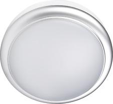 Silver 15W Flush LED Mini Bulkhead Light Ceiling Wall Bulkhead IP65