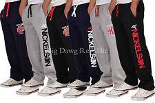 Nickelson Men's Designer Jog Fleece Pants, Gym Bottoms, New Hip Hop Star Era G