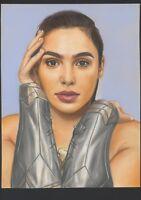 a02064 Wonder Woman original drawing 11x17 Alex Cliff ⭐AlbertStoneGallery⭐