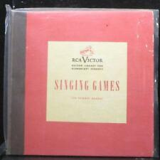"RCA Victor Orchestra - Singing Games For Primary Grades EP 4x7"" VG+ Vinyl 45"
