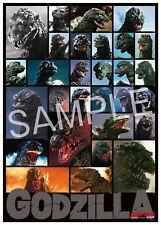 Godzilla Store Tokyo Limited Opneing Memorial Poster / Successive Godzilla / B2