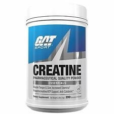 GAT CREATINE Micronized Powder 2.2 lbs 200 Servings MUSCLE STRENGTH SIZE STAMINA