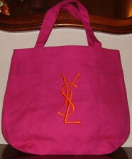 100% AUTHENTIC XMAS YSL Signature MAKEUP~GYM~OVERNIGHT~BEACH~TOTE~SHOPPING BAG