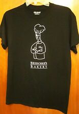 BRIESCHKE'S BAKERY small T shirt Sylvania donut cakes Ohio tee pecan rolls