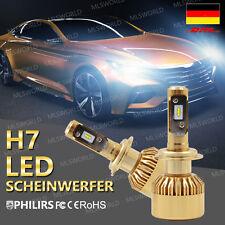 H7 PHILIPS 110W 11000LM LED Scheinwerfer Birnen Headlight Leuchte Lampen CANBUS