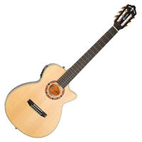 Crafter KCTS-155 C Solid Sitka Spruce Natural Satin Classical Guitar