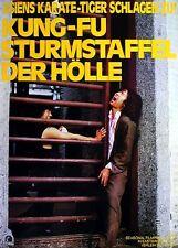 KUNG-FU STURMSTAFFEL DER HÖLLE Original Filmplakat A1 gefaltet