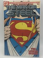 The Man of Steel #1 - 1986 - DC Comics - Superman - Byrne Art C4