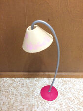 Barbie Doll Living Room Office Modern Floral Floor Lamp Home Furniture Accessory