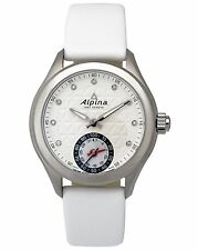 ALPINA LADIES WHITE DIAMOND DIAL HOROLOGICAL SMARTWATCH iOS & ANDROID $1,050