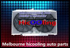"""Alloy Radiator &16"""" Fans NISSAN PATROL GU Y61 2.8L 3.0L RD28 ZD30 CR 99-13 AUTO"""