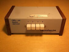 Comprehensive Passive Switcher Cps-4Aa *Free Shipping*