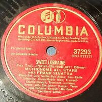 Metronome All Stars With Frank Sinatra: Sweet Lorraine / Nat Meets June: 1947