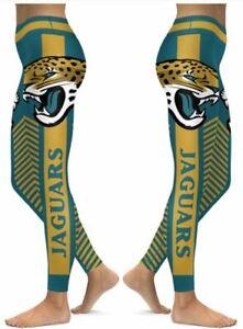 Jacksonville Jaguars Small to 2X-Large Women's Leggings New 2020