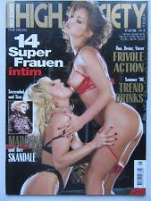 High Society (D) 8/1996, Madonna, Max Sharam, Shayla Foxx, Jimi Hendrix