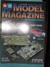 """REVUE """"TAMIYA MODEL MAGAZINE"""" N°79 JANVIER 2006 HONDA S2000 FERRARI 512BB LM78"""