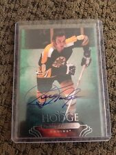 11/12 Upper Deck Parkhurst Champions Autographs #69 Ken Hodge Boston Bruins