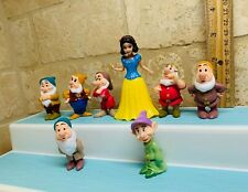 Disney Princess snow white 7  Dwarfs Polly Pocket doll  , Magiclip DRESS