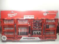 Milwaukee Shockwave 100 Piece Impact Driver Bit Set - 48-32-4083